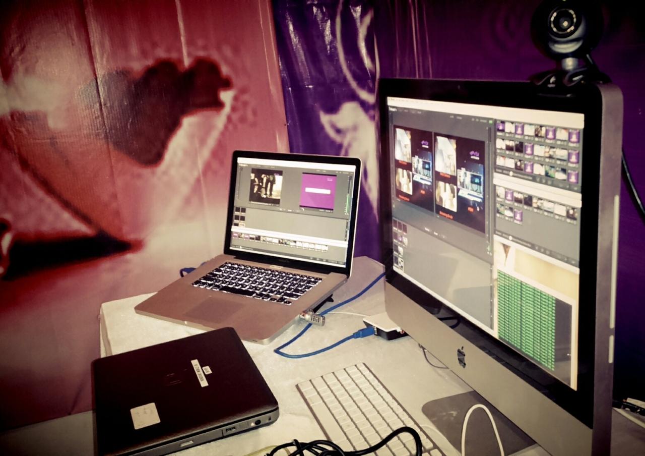 livestreaming….. main +backup…